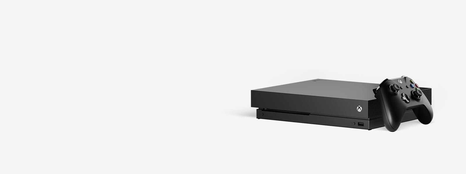 Xbox One X 1TB 消光黑