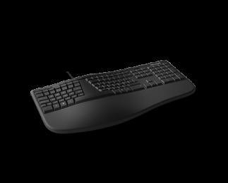 微软人体工学键盘 黑色