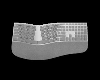 微软 Surface 人体工程学键盘