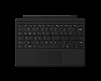 微软带指纹识别的 Surface Pro 专业键盘盖 典雅黑