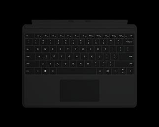 微软 Surface Pro X 键盘盖 典雅黑