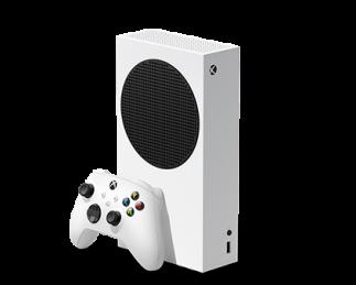 微软Xbox Series S主机及游戏手柄
