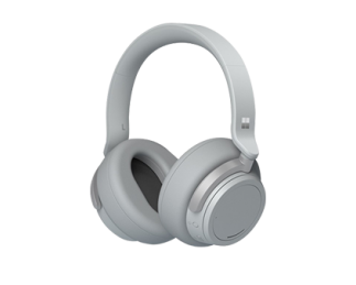 微软 Surface Headphones 浅灰色