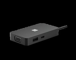 微软 USB Type-C 扩展坞 黑色