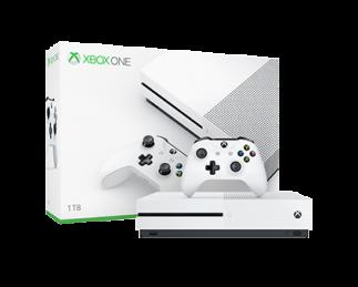 微软 Xbox One S 家庭娱乐游戏机 1TB