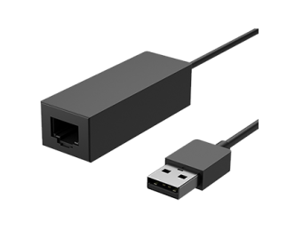 微软 Surface USB 3.0 至千兆位以太网适配器 黑色