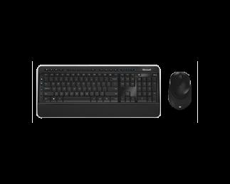 微软无线蓝影桌面套装 3050 黑色