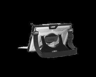 UAG Surface Pro 手带系列保护套(附赠背带)透明色黑框