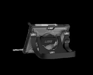 UAG Surface Go 手带系列保护套(附赠背带)透明色黑框