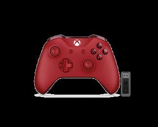 微软 Xbox 无线控制器 + Windows 10 适用的无线适配器