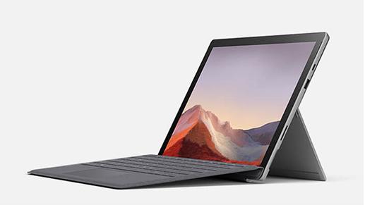 Surface Pro 7 笔记本模式
