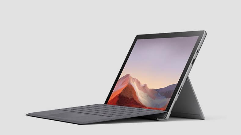Surface Pro 7 渲染图