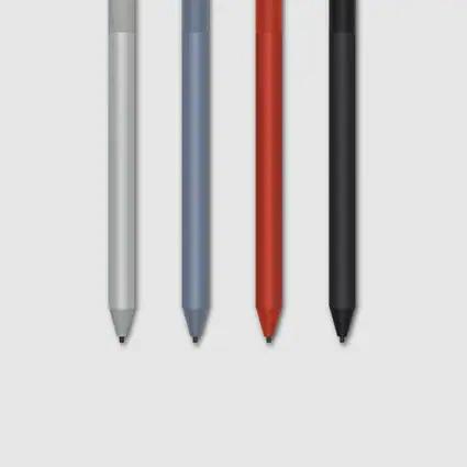 各种颜色的 Surface 触控笔
