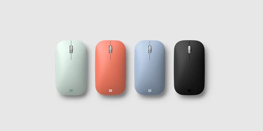 各种颜色的移动鼠标