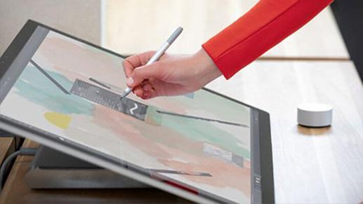 Surface Dial 通过直观的快捷操作方式让创意涌动不息