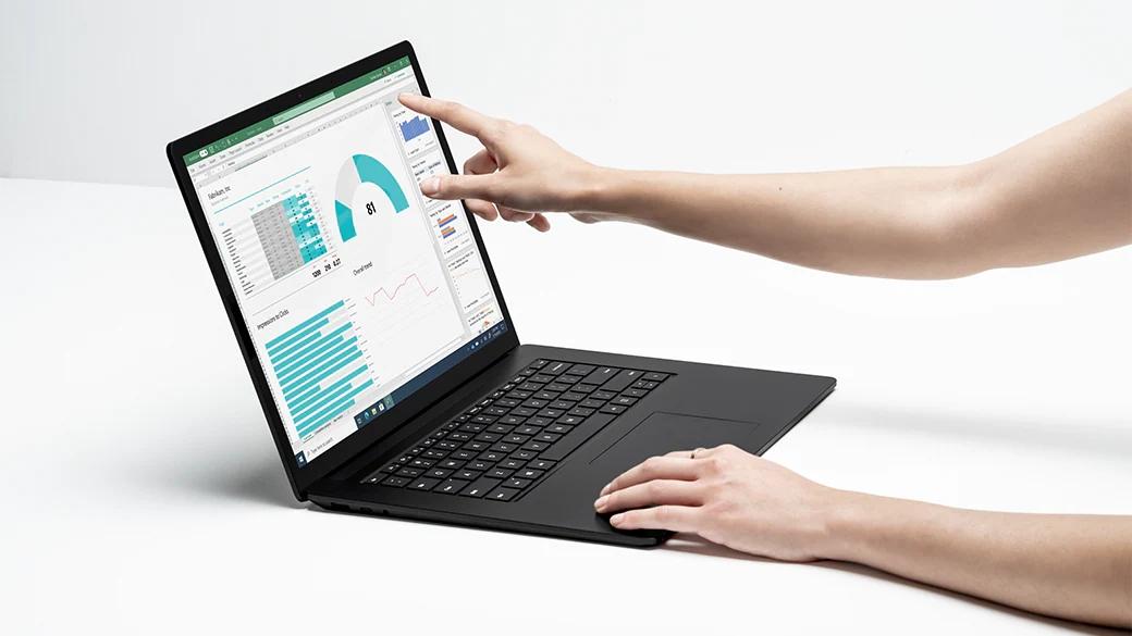 Surface Laptop 4 扬声器。