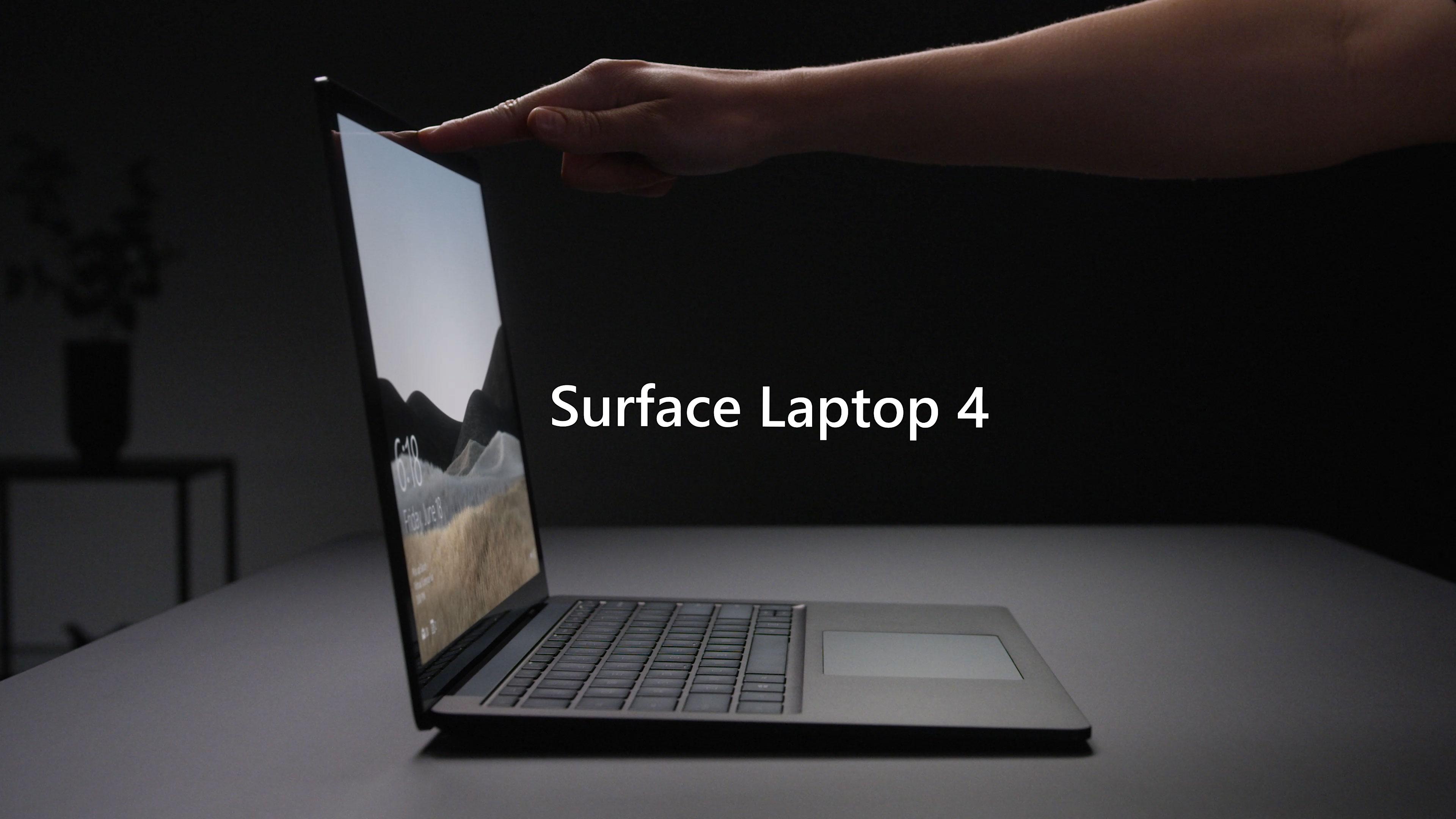 Surface Laptop 4 典雅黑