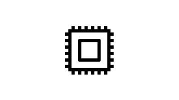 计算机芯片图标