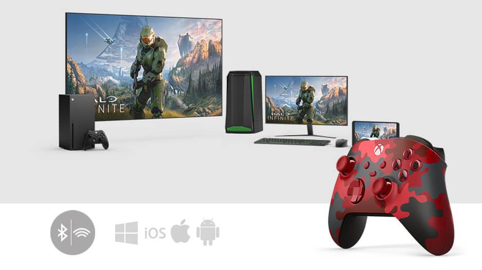 Xbox 无线控制器 破晓行动特别款 与Xbox游戏无线蓝牙畅连