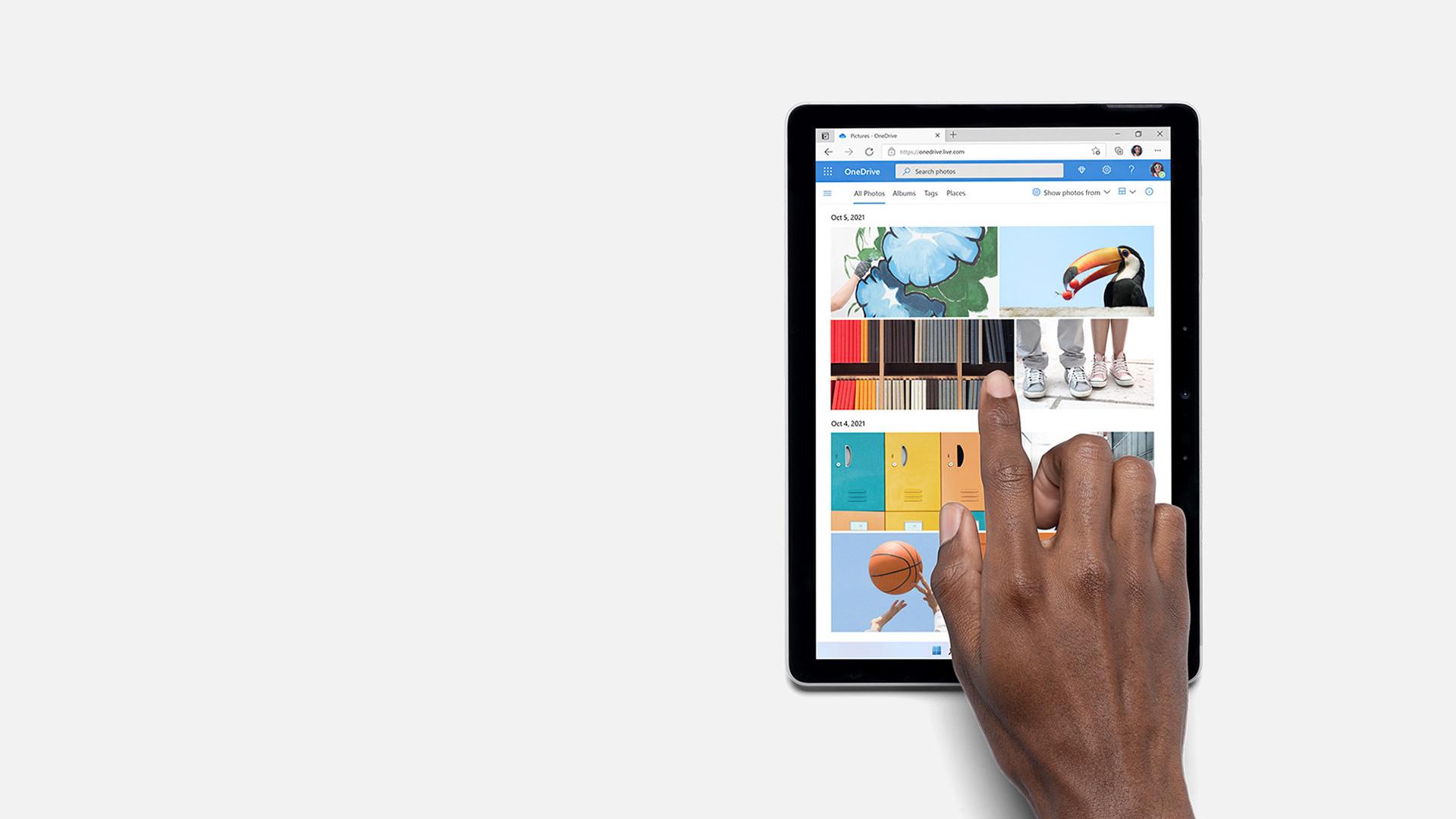 Surface Go 3 用作平板电脑