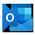 Microsoft Outlook 图标。