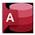 Microsoft Access 图标。